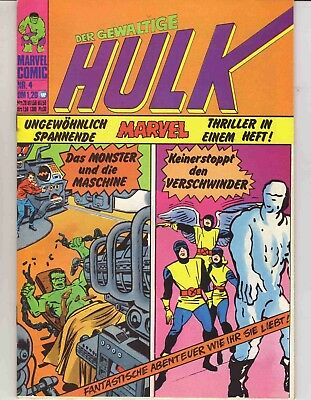 Hulk  Nr. 4  (Zust. 1/1-)   -Williams-