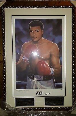 Mohamed Ali - Collectors Limited Edition only 250 World Wide Signed (No. 15/250)