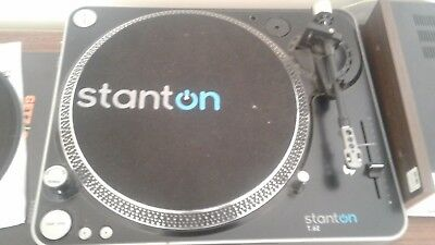 Stanton T.62 Direct-Drive DJ Turntables  *Never used by DJ*