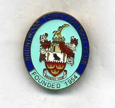 Brentwood Town  Fc  Non League Football Pin Badge