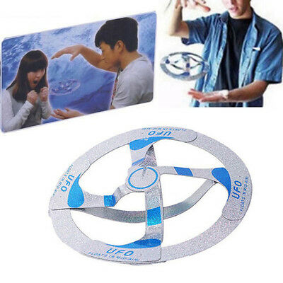 Amazing Mystery UFO Floating Flying Disk Magic Creative Trick Saucer Kids Toy