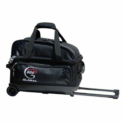 900 Global Value 2 Ball Roller Bowling Bag- Black