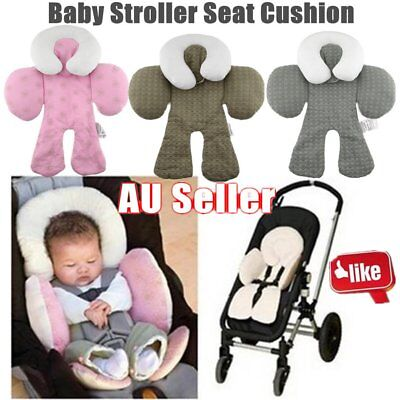 Safety Baby Kid Stroller Pram Pushchair Two Sided Car Seat Cushion Pad Liner GT