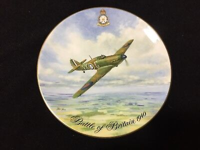 Vintage memorial plate of 40th Anniversiary of the Battle of Britain