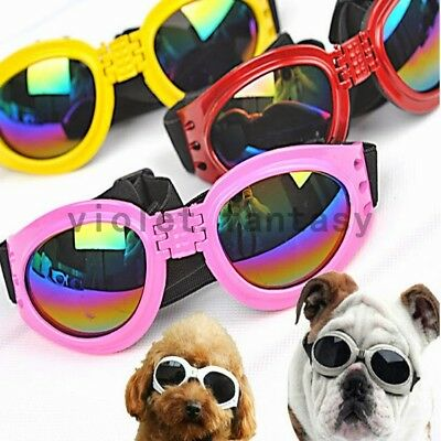 Pet Puppy Dog Sunglasses Sun Glasses UV Protection Eye Wear Protection
