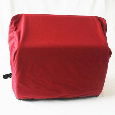 Accordion dust cover in red for 120 bass accordion