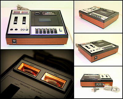 1970's SANYO RD4530 Solid State Stereo Cassette Tape Deck