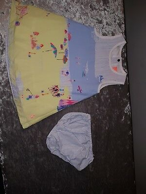 joules baby girl dress 6-9 months