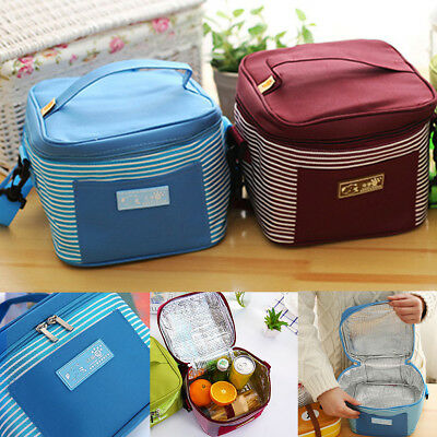 Waterproof Insulated Thermal Cooler Lunch Box Carry Tote Picnic Camping Bag