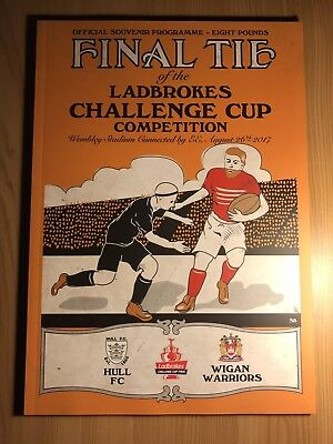 Rugby League Challenge Cup Final 2017 Hull FC v Wigan Warriors