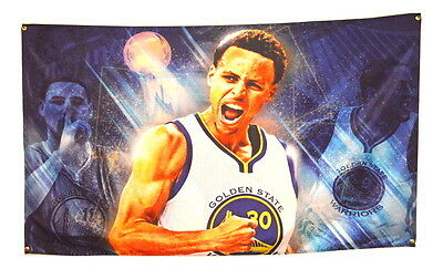 Steph Curry Flag 3x5 Banner Golden State Warriors Poster Sign Champions NEW