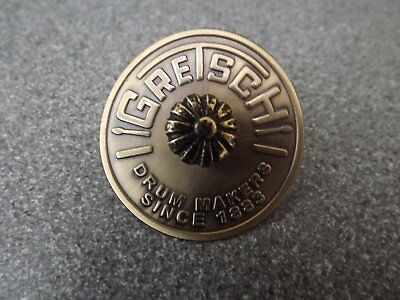 Gretsch Round Badge With Daisy Pin