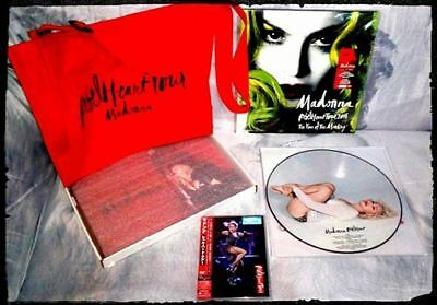 Madonna Rebel Heart Tour Dvd Japan Limited Edition Book Tour Picture Disc Vinyl