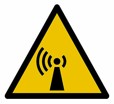 Pictogramme ISO 7010 DANGER-radiations-non-ionisantes