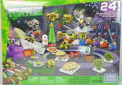 Turtles Teenage Mutant Ninja Adventskalender Mega Bloks