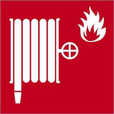 Pictogramme ISO 7010 INCENDIE-lance