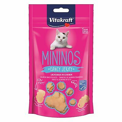 Vitakraft Snack pour chats mininos lachssnack dans tranches 40g-leckerli