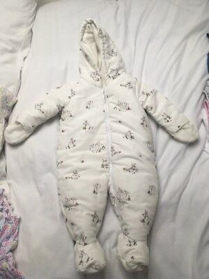 Mothercare Baby Girl Snowsuit 0-3