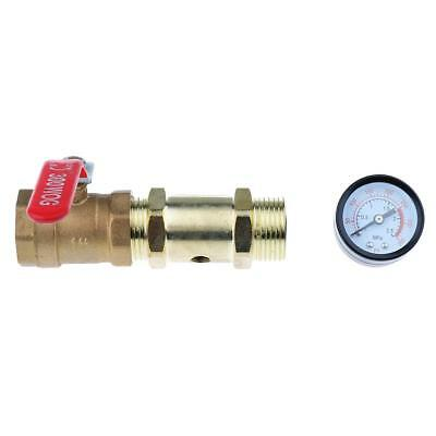 Fire Fighting End Water Test Equipments Pressure Gauge Water Control Valve