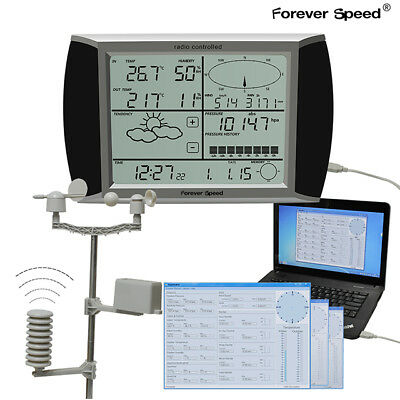 WH1080 Weather Station Function Thermometer LCD Touchscreen with outdoor sensor