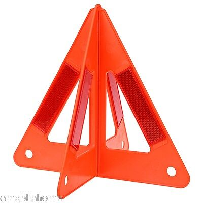 Auto Car Safety Emergency Reflective Warning Triangle 26*25*23CM New