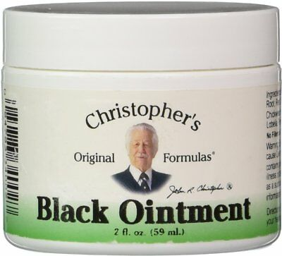 Black Drawing Ointment, Christopher's Original Formulas, 2 oz