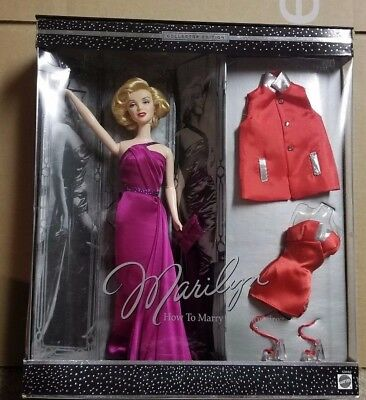 Barbie as Marilyn Monroe in How to Marry a Millionaire 2001 Mattel Giftset NIB