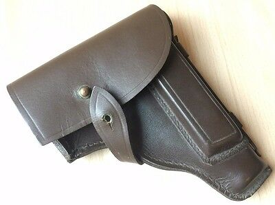 Vintage Collectible Russian USSR Communist Genuine Leather Police Gun Holster
