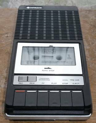 Boxed Hitachi TRQ-249 portable Cassette Tape Recorder Player