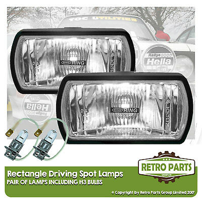 Rectangle Driving Spot Lamps for Nissan Leaf. Lights Main Beam Extra