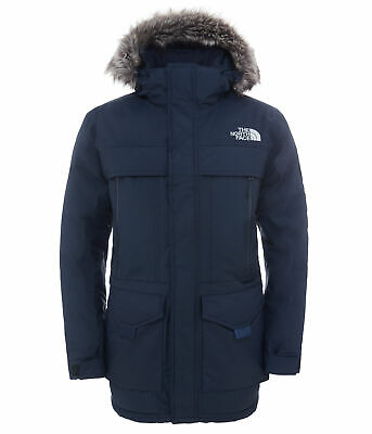 The North Face Mens McMurdo Parka - Urban Navy - Down Filled