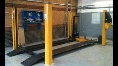 4000KG Bradbury 40 Series 4 Post Mot Lift