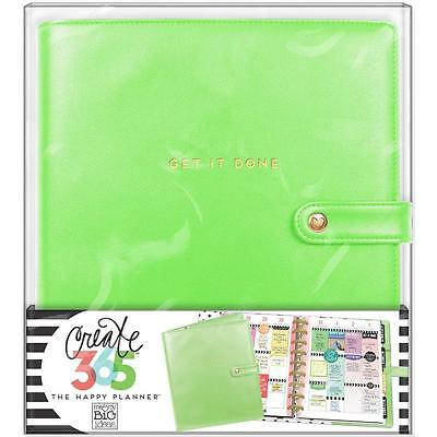 Me & My Big Ideas CLASSIC Happy Planner Deluxe Cover Spring Green CODC-01