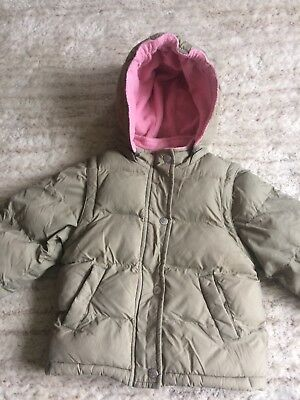 Mini Boden girls winter coat 2-3yrs