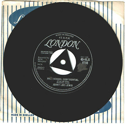 Jerry Lee Lewis,High School Confidential- UK London Tri-Centre For Your Jukebox