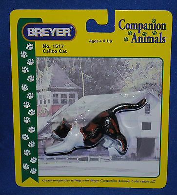 Breyer~Calico Stretching Cat~Kitty~2000-04~RARE~LOOK!!~NIB~Companion Animal