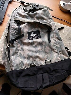 rare Gregory (Japan) Day Pack in digital camo backpack