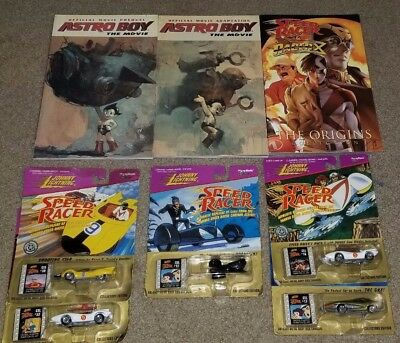 Speed Racer Comic Book and Johnny Lightning DieCast Car lot