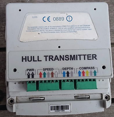 TackTick Hull Transmiter, Worked prior to removal.