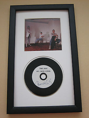 Paul Weller THE JAM All Mod Cons FRAMED CD Disc Presentation