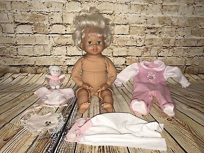 """LITTLE MOMMY Interactive REAL LOVING BABY 16"""" Doll Fisher Price / Mattel 2006"""