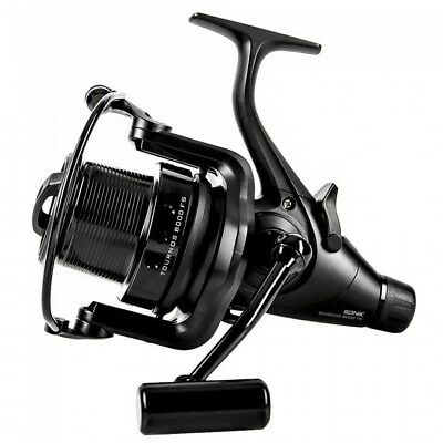 Sonik Tournos 8000 FS Reels - Carp Barbel Pike Coarse Fishing Tackle RRP £99.99