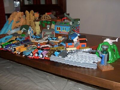 Thomas The Tank Bundle of Engines, Tracks, Bridges, Stations, and much more.