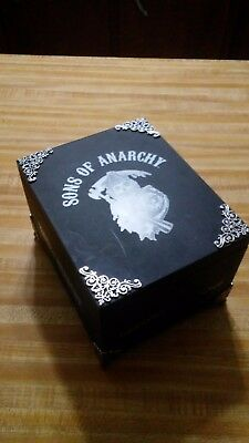 sons of anarchy cigar box with silver feet