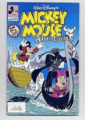 Mickey Mouse Adventures #1 VF 1990 ~ Fast Shipping ~ Disney Comic Book