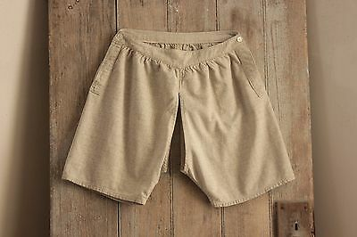 Antique Vintage  French  old bloomers short pantaloons