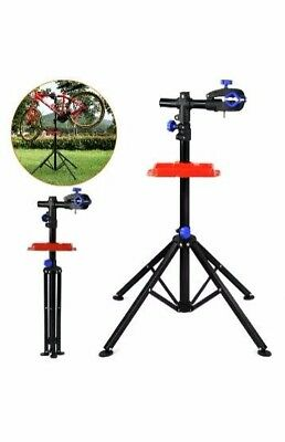 Bike Bicycle Home Adjustable Folding Repair Mechanic Maintenance Work Stand Rack