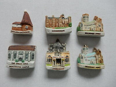 One Selected 3D Souvenir Fridge Magnet from the UK Tourist Attractions