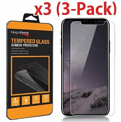 3X Premium Tempered Glass Screen Protector for Apple iPhone X Edition