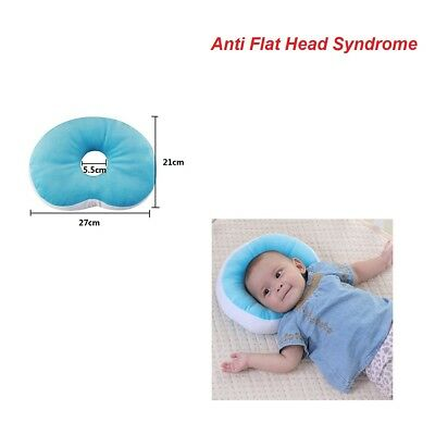 Newborn Pillow Anti Flat Head Syndrome Baby Soft Memory Car Seat Cribb Pram Tool